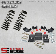"Street Edge 95-02 Chevy Astro/GMC Safari 2WD 2.5"" Front & 3.5"" Rear Lowering Kit"