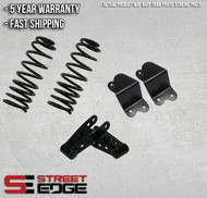 """Street Edge 99-06 Chevy Silverado/GMC Sierra Extended Cab 1500 2WD 2"""" Front & 4"""" Rear Lowering Kit"""