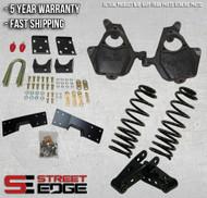 "99-06 Chevy Silverado/GMC Sierra Regular Cab 1500 2WD 5"" Front & 7"" Rear Lowering Kit"