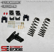 """07-13 Chevy Silverado/GMC Sierra Extended,Crew Cab 1500 2WD/4WD 2"""" Front & 4"""" Rear Lowering Kit"""