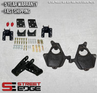 """07-13 Chevy Silverado/GMC Sierra Extended,Crew Cab 1500 2WD/4WD 2"""" Front & 4"""" Rear Lowering Kit w/spindle"""