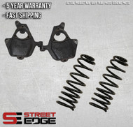 "01-06 Cadillac Escalade/GMC Denali  2"" Front & 3"" Rear Lowering Kit w/spindles"