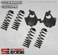 "07-13 Chevy Tahoe,Suburban,Avalanche/GMC Yukon,Yukon XL 3"" Front & 4"" Rear Lowering Kit"