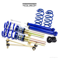 Solo Werks S1 Coilover - MK VI Jetta S 11'-15' 50mm  (W/ Multi Link Rear Suspension)