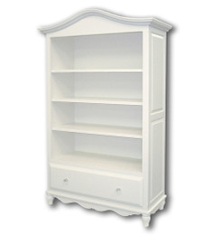 Frenchy Bookcase with Storage