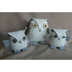 New Designs: Who the Embroidered Owl
