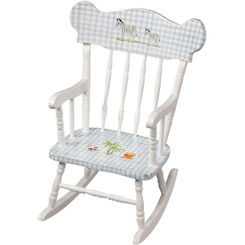Child's Rocking Chair in Safari