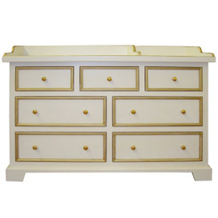 Classic Changer/Dresser w/Gold Trim
