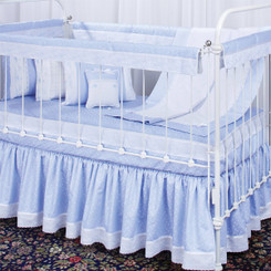 Bumperless Baby Crib Set