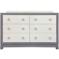 Tempo Dresser 6 Drawer - Gray Ash