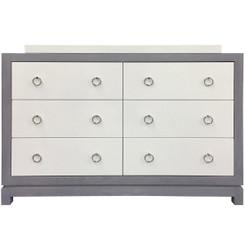 Tempo Dresser 6 Drawer - Gray Ash