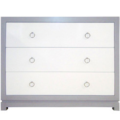 Tempo 3 Drawer Dresser. High-end quality, eco-friendly materials.