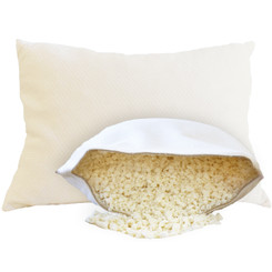 OMI 'The Crush' 100% Natural Shredded Rubber Pillow