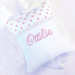 Musical Pillow w/ Custom Embroidery