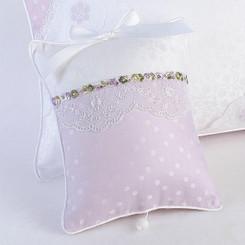 Musical Pillow in Lavender Celeste