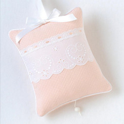 Musical Pillow in Peach