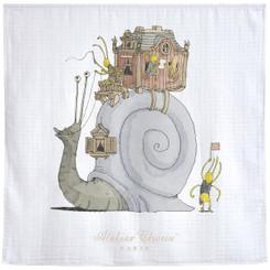 Snail Riding - Signature Blanket