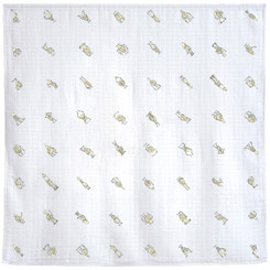 Robot Alphabet - Signature Blanket