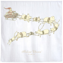 Santa's Sleigh - Signature Blanket