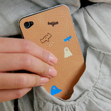 I DOT iPhone4 leather skin