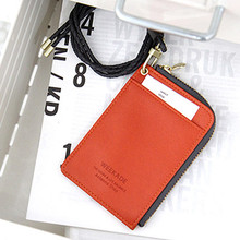 WEEKADE zipper slit wallet