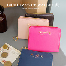 Iconic Zip-up Wallet S