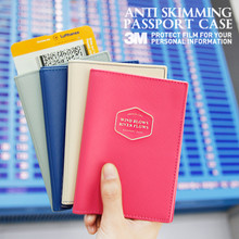 Anti Skimming Passport Case V.2