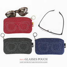 The Basic Felt ver.3 Glasses Pouch
