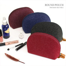 The Basic Felt ver.3 Round Pouch