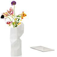 White Paper Vase Cover