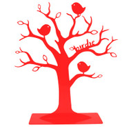ANNABEL TRENDS -  Jewellery Tree - BIRDIE - RED