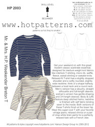 HP 2003 Mr. & Mrs. H.P. Weekender Breton T