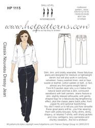 HP 1115 Classix Nouveau Dressy Jean