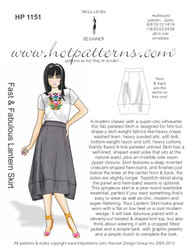 HP 1151 Fast & Fabulous Lantern Skirt