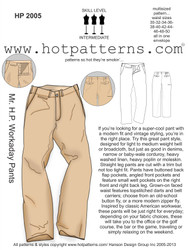HP 2005 Mr. H.P. Workaday Pants