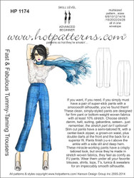 HP 1174 A4 download Fast & Fabulous Tummy-Taming Trousers
