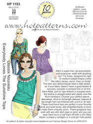 HP 1193 Classix Nouveau Everybody Loves the Sunshine Tops