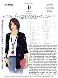 HP 1192 letter download Metropolitan Chimera Cardigan-Jacket-Vest