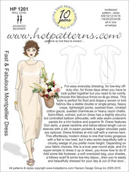 HP 1201 A4 download Fast & Fabulous Montpellier Dress