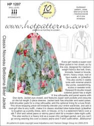 HP 1207 letter download Classix Nouveau Bellissima Biker Jacket