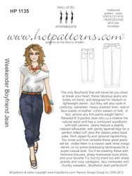 HP 1135 letter download Weekender Boyfriend Jeans