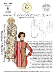HP 1098 Boudoir Of Bliss Buckingham Beauty Nightgown & Nightshirt