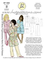 HP 1094 Boudoir Of Bliss Pyjamarama Retro PJs & Robe