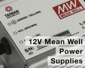 12v mean well power supply