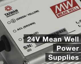 24v mean well power supply