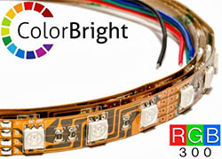 colorbright rgb color changing led strip lights