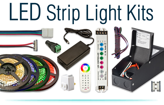LED Strip Lighting Kits