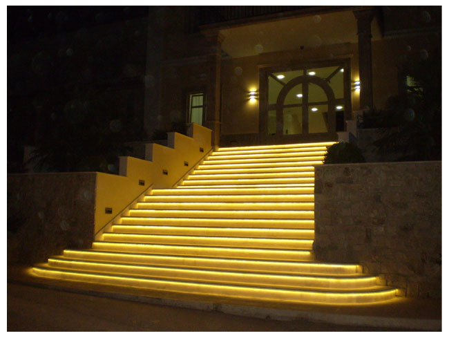 Outdoor And Patio LED Strip Light Examples Weather Resistant LEDs