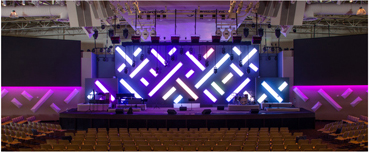 Saddleback church LED lighting Flexfire LEDs