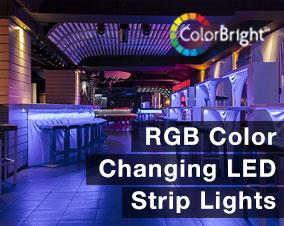 RGB Color Changing LED Strip Lights
